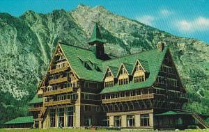 Canada Alberta Waterton National Park The Prince Of Wales Hotel