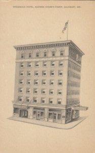 SALISBURY , Maryland , 1910-20s ; WICOMICO Hotel