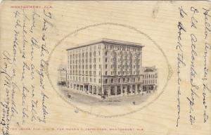Alabama Montgomery Exchange Hotel 1907