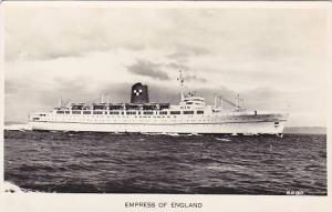 RP, Oceanliner/Steamer/Ship, Empress Of England, Canadian Pacific Railway C...
