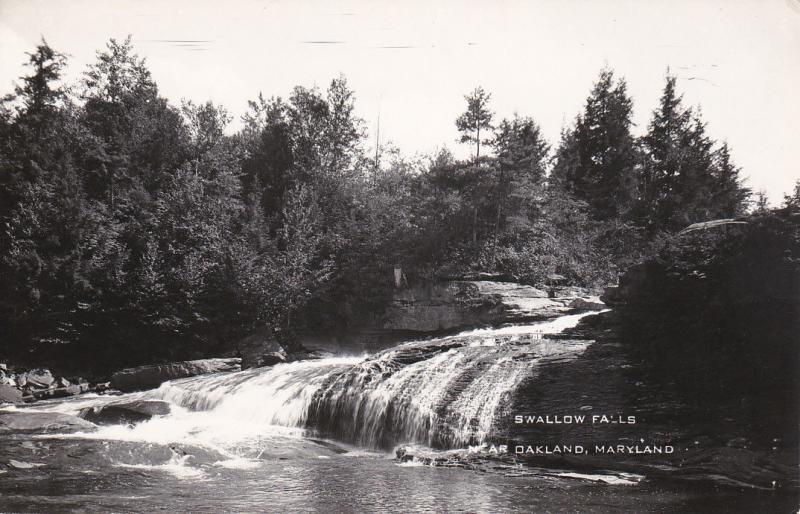 RP: Swallow Falls , OAKLAND , Maryland , 40-50s