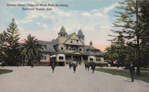 California Soldiers' Home Dinner Hour General Mess Hall Building Curteich