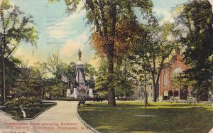 Washington Park Showing Soldiers' and Sailors Monument, Rochester, New York, ...