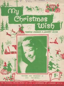My Christmas Wish Joy Nichols 1940s Sheet Music