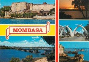 Mombasa Kenya postcard
