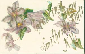 SMITHFIELD FLATS NEW YORK GREETINGS FROM POSTCARD c1910s