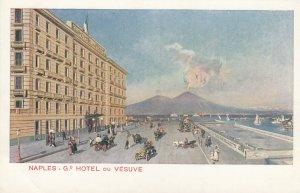 Napoli, Italy, 1900-10s ; Grand Hotel Du Vesuve
