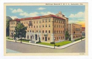 McGilvray Memorial YMCA, Springfield, Ohio, 1930-40s