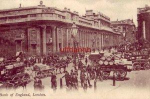 BANK OF ENGLAND LONDON, ENGLAND 1907 J. J. Samuel's Post Card Depots