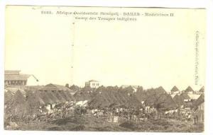 Afrique Occidental, Madeleines II, Camp Des Troupes Indigenes, Dakar, Senegal...