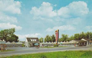Exterior,  Homeric Motel,  Ancienne Lorette,  Quebec,  Canada,  40-60s