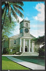 Hawaii, Honolulu, Kawaiahao Church, unused