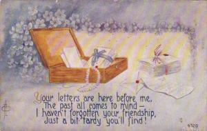 Fred Cavally Box Of Letters  1912