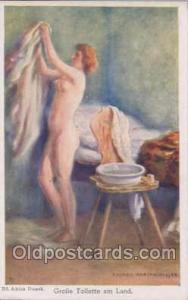 Artist Eduard Adrian - Dussek Nude, Nudes Postcard Postcards  Artist Eduard A...