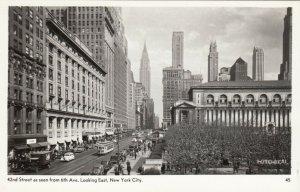 RP: NEW YORK CITY, 30-40s; 42nd Street