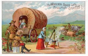 VICTORIAN TRADE CARD, WOOLSON SPICE CO.