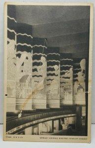 Murals General Electric Exhibit 1933 Chicago Illinois Vintage Postcard