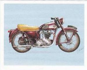 Newmarket Hardware Vintage Trade Card Britains Finest Bikes 1993 No 3 Ariel V...
