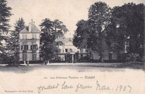 Coppet Les Chateau Chateaux Vaudois Old French Postcard