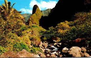 Hawaii Maui Iao Valley and Needle