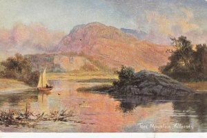 KILLARNEY , Ireland , PU-1906 ; Torc Mountain, Sailboat