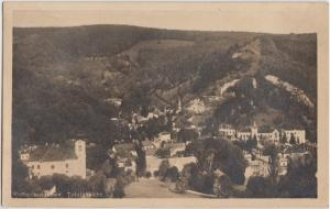 Kaltenleutgeben Austria Postcard Lower Austria Totalansicht BirdView Real Photo