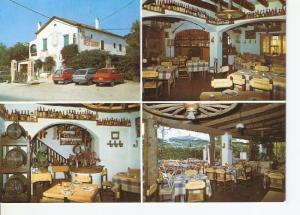 Postal 027433 : Restaurante La Masia men, Sitges (Barcelona)