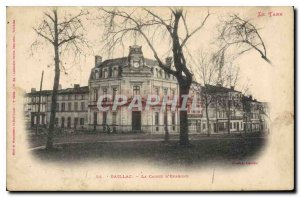 Old Postcard Gaillac The Fund savings dividends