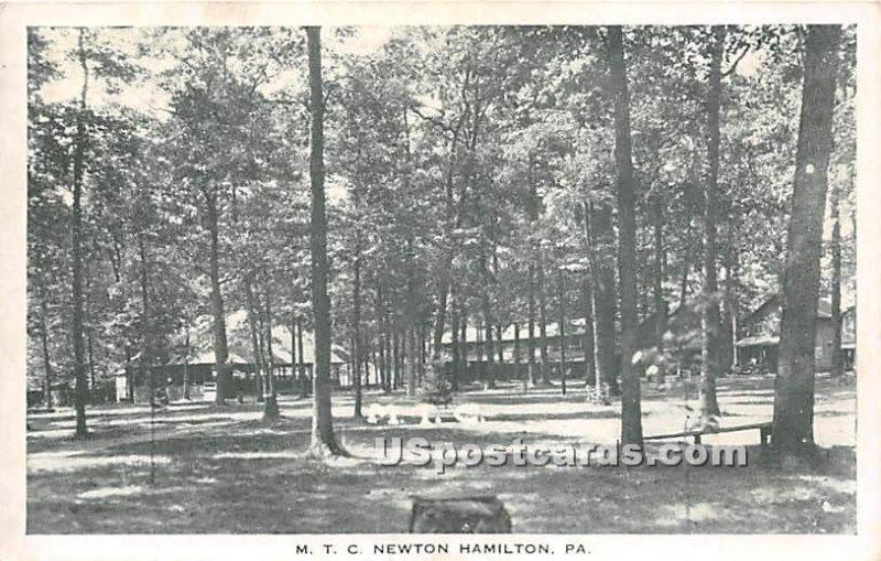 The Methodist Training Camp - Newton Hamilton, Pennsylvania