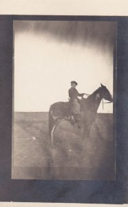 RP: Boy on a horse , 00-10s