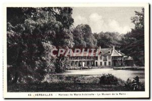 Old Postcard Versailles Marie Antoinette Hamlet Of The House Of The Queen