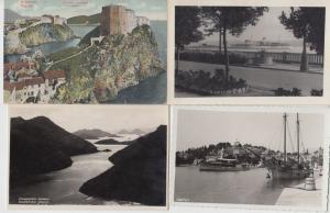 CROATIE CROATIA 229 Cartes Postales 1900-1940.