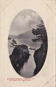Beautiful Washington, Description Pass and Canoe Pass Puget Sound, 10-20s