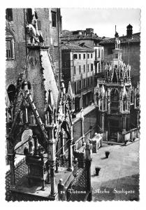 Italy Verona Arche Scaligere Scaliger Family Tomb Glossy Photo 4X6 Postcard