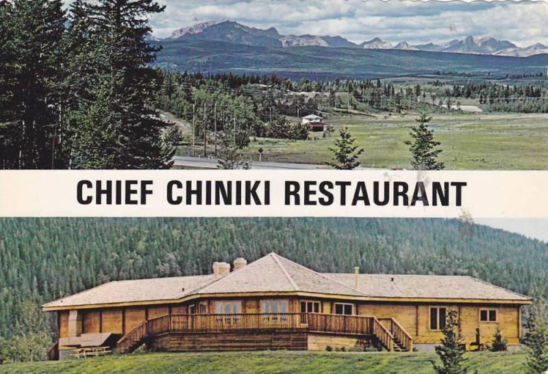 Scenic Birdseye View, Exterior View, Chief Chiniki Restaurant, TransCanaday H...