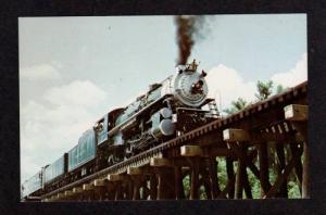 GA Southern Railroad Train Suwannee River FARGO GEORGIA