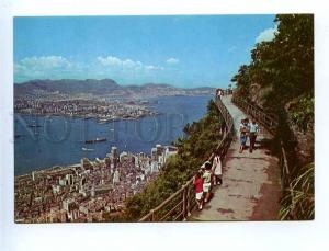 179691 Hong Kong Central area Kowloon Peninsula postcard