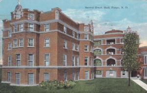 FARGO, North Dakota, PU-1924; Sacred Heart Hall