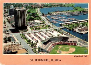 Florida St Petersburg Aerial View Waterfront Park