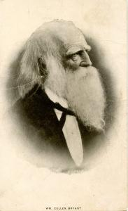 Famous People - William Cullen Bryant    (crease in card)