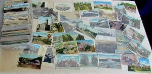 POSTCARDS RANDOM LOT OF 50 ANTIQUE & VINTAGE US VIEWS ONLY