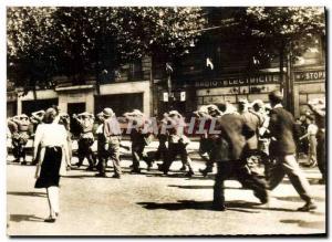 Old Postcard Militaria German prisoners were taken by American soldiers