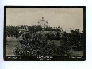 192784 FINLAND ABO Observatory Vintage photo postcard