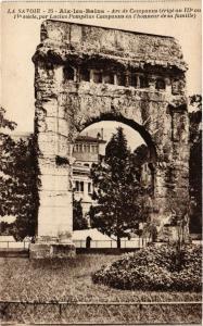 CPA La Savoie - AIX-les-BAINS - Arc de Companus Jerige au 111*ou (351822)