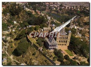 Postcard Modern Madagascar Aerial view of the Palace of the Queen in Antanana...