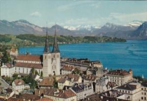 Switzerland Luzern und Die Alpen