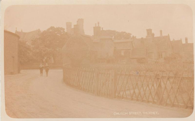 RP: THORNEY , England , 1900-10s ; Church Street