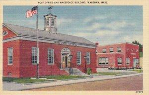 Post Office and Makepeace Building Wareham Massachusetts