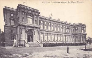 Le Palais Du Ministere Des Affaires Etrangeres, PARIS, France, 00-10s
