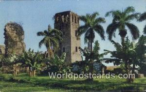 Panama Old Panama Ruins of the Cathedral